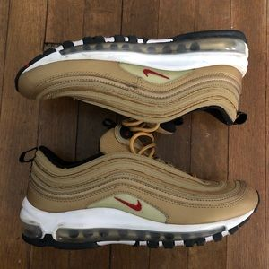 "NIKE AIR MAX '97 ""Gold Medal"" - KIDS 7Y/WMNS 8.5"